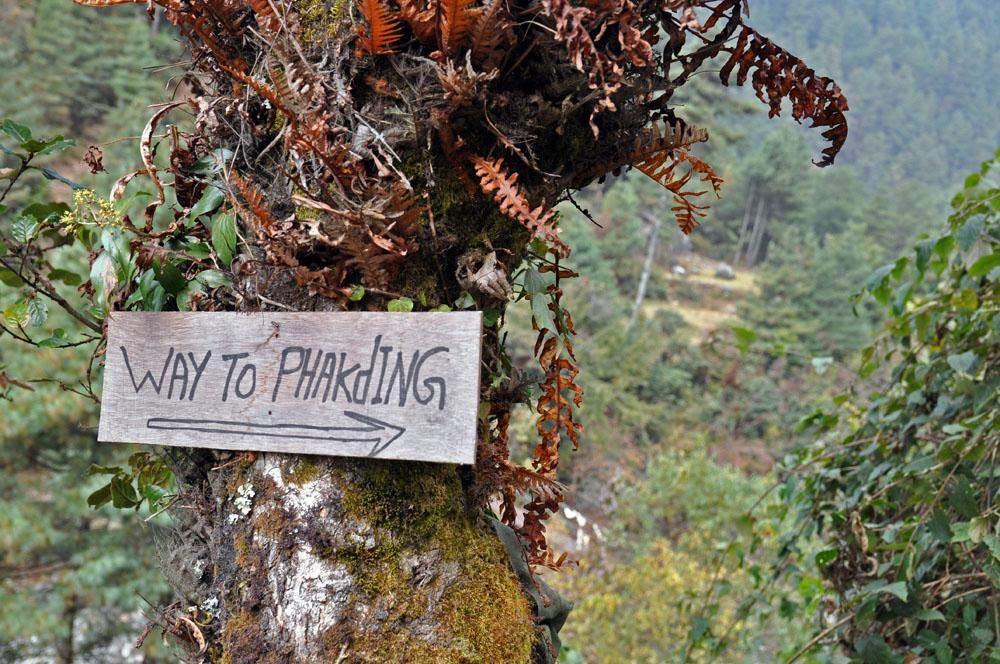 Way to Phakding