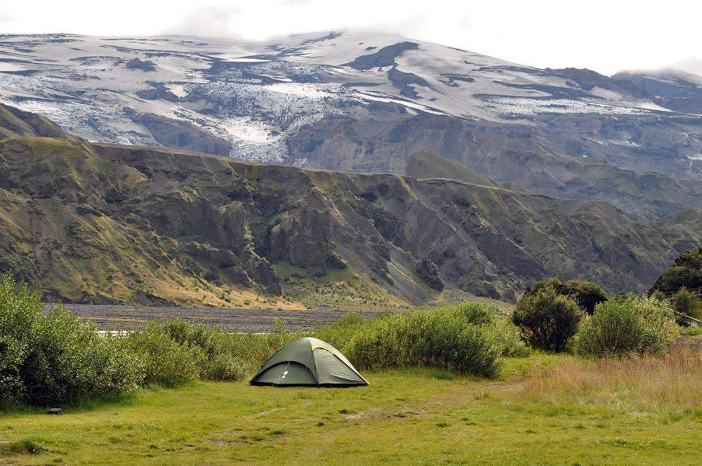 camping in thorsmork