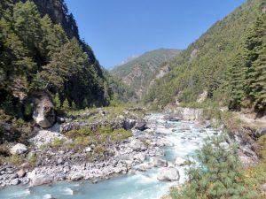 Everest Base Camp trek dag 2: Phakding naar Namche Bazaar