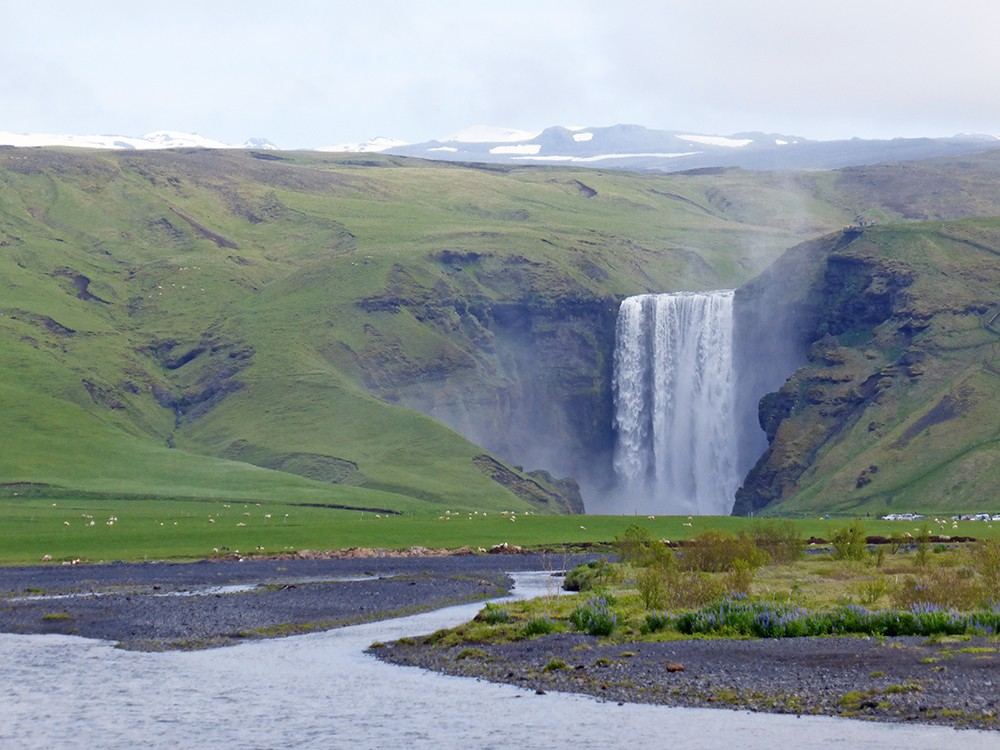 the icelandic south coast in one day skogafoss
