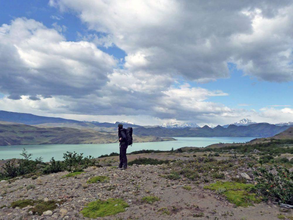 w trek in torres del paine lago nordenskjold