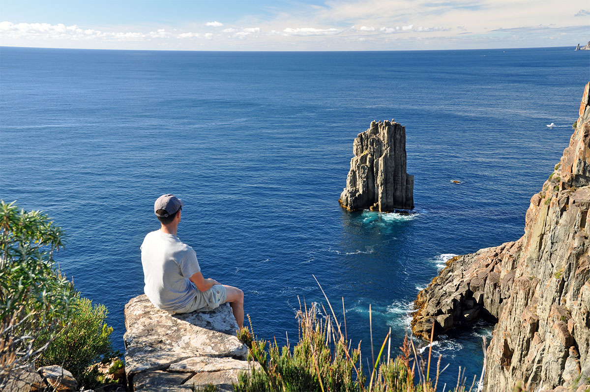 mooiste wandelingen in Tasmanië cape hauy tasman peninsula