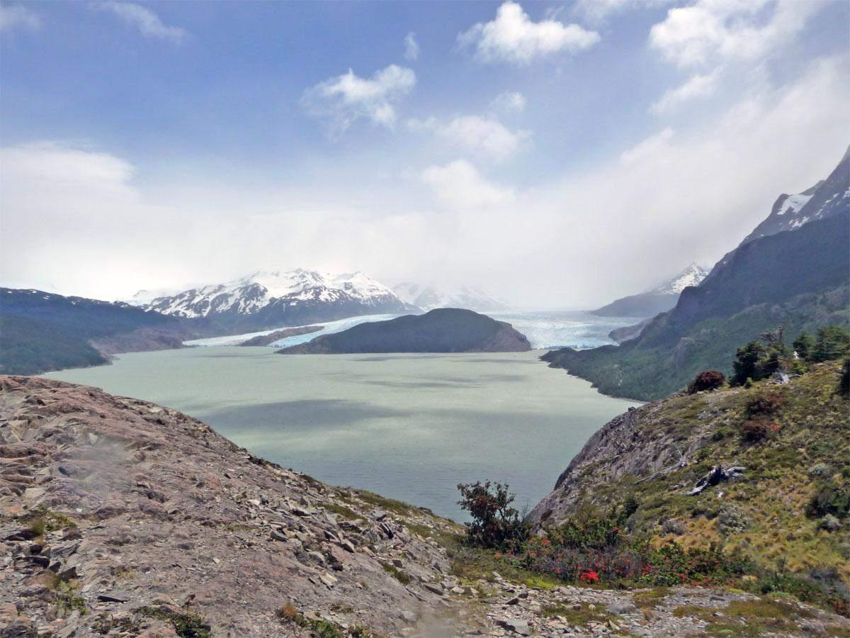 glaciar grey torres del paine w trek