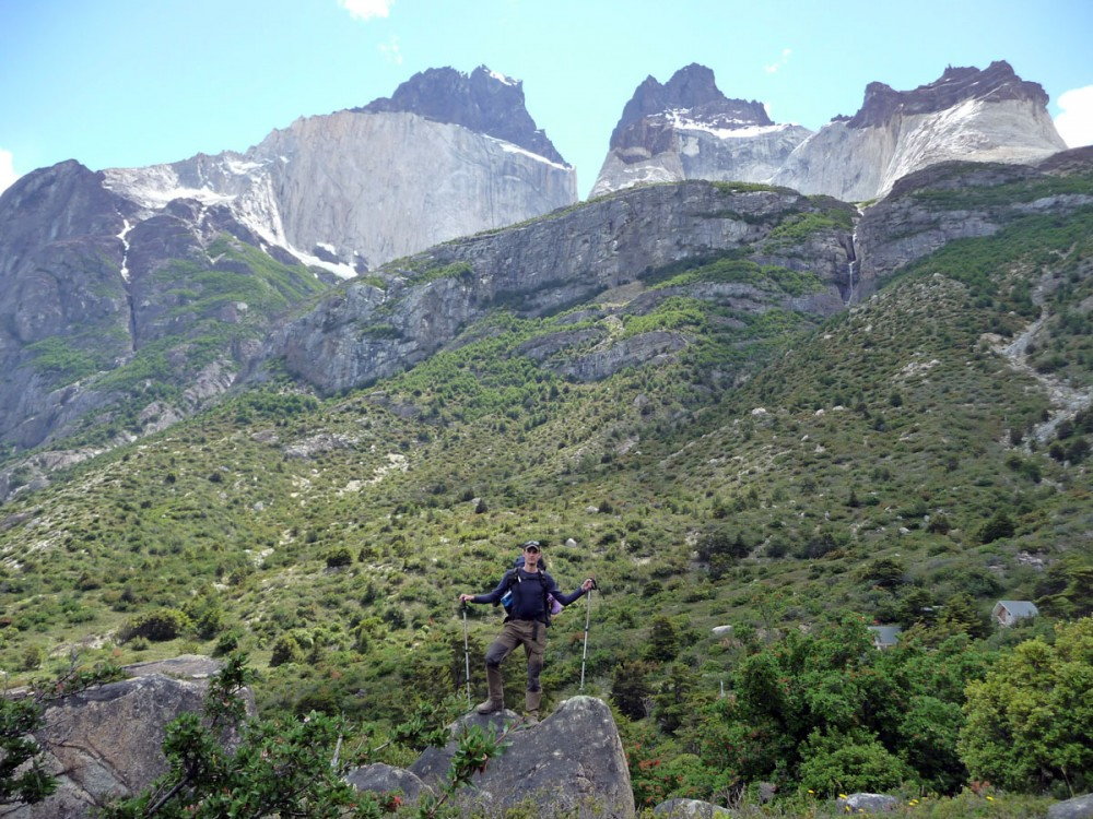 los cuernos w trekking in torres del paine national park