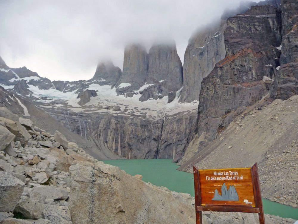 mirador las torres w trek torres del paine national park