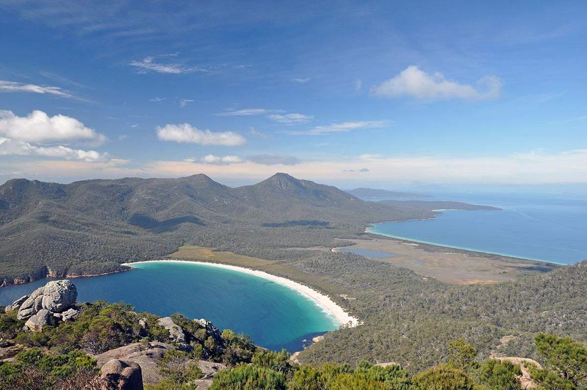mount amos mooiste wandelingen in tasmanie