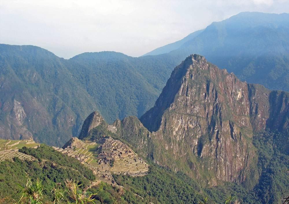 Hiking the Ince Trail in Peru