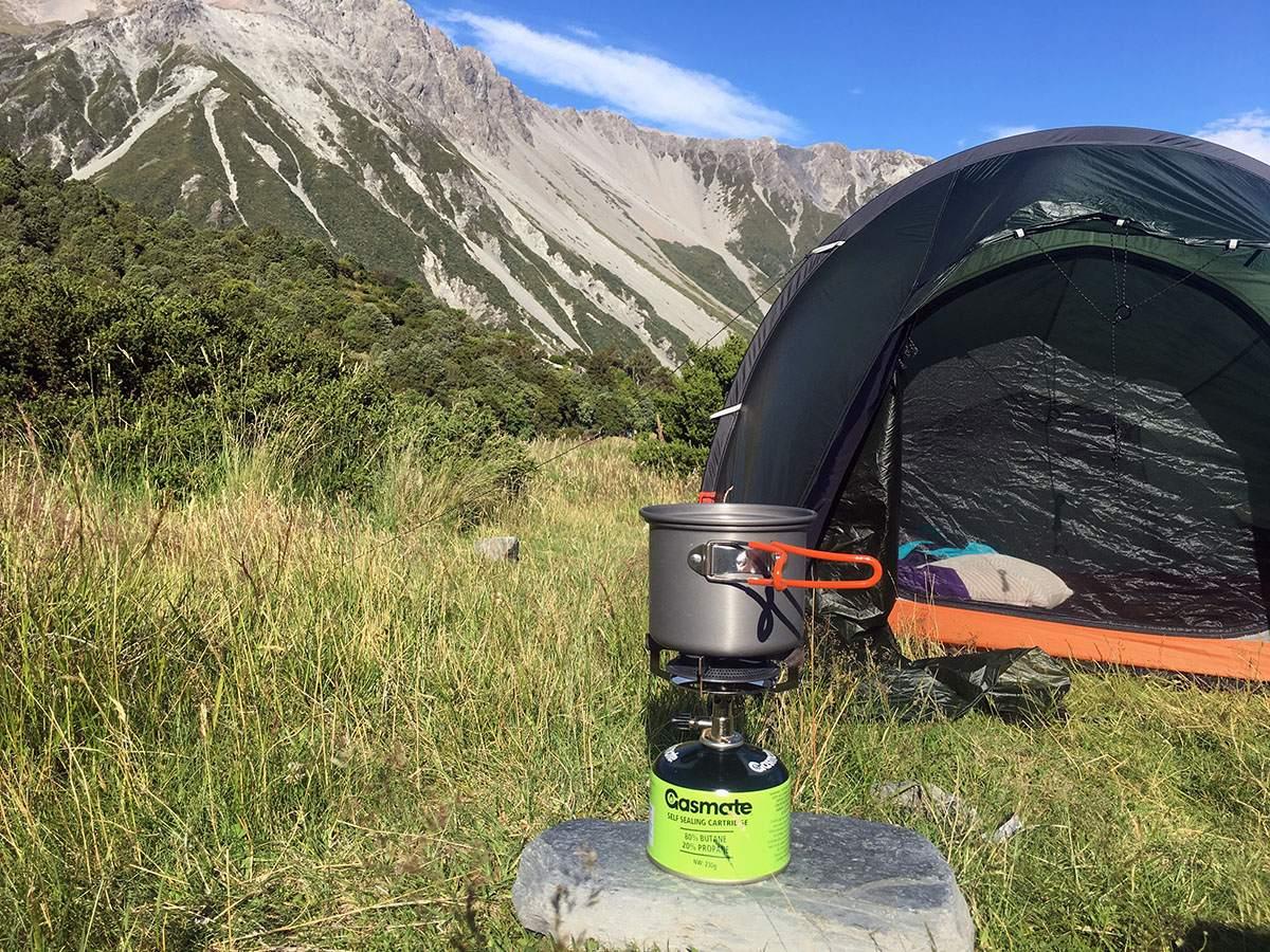 outdoor eten trekking voedsel