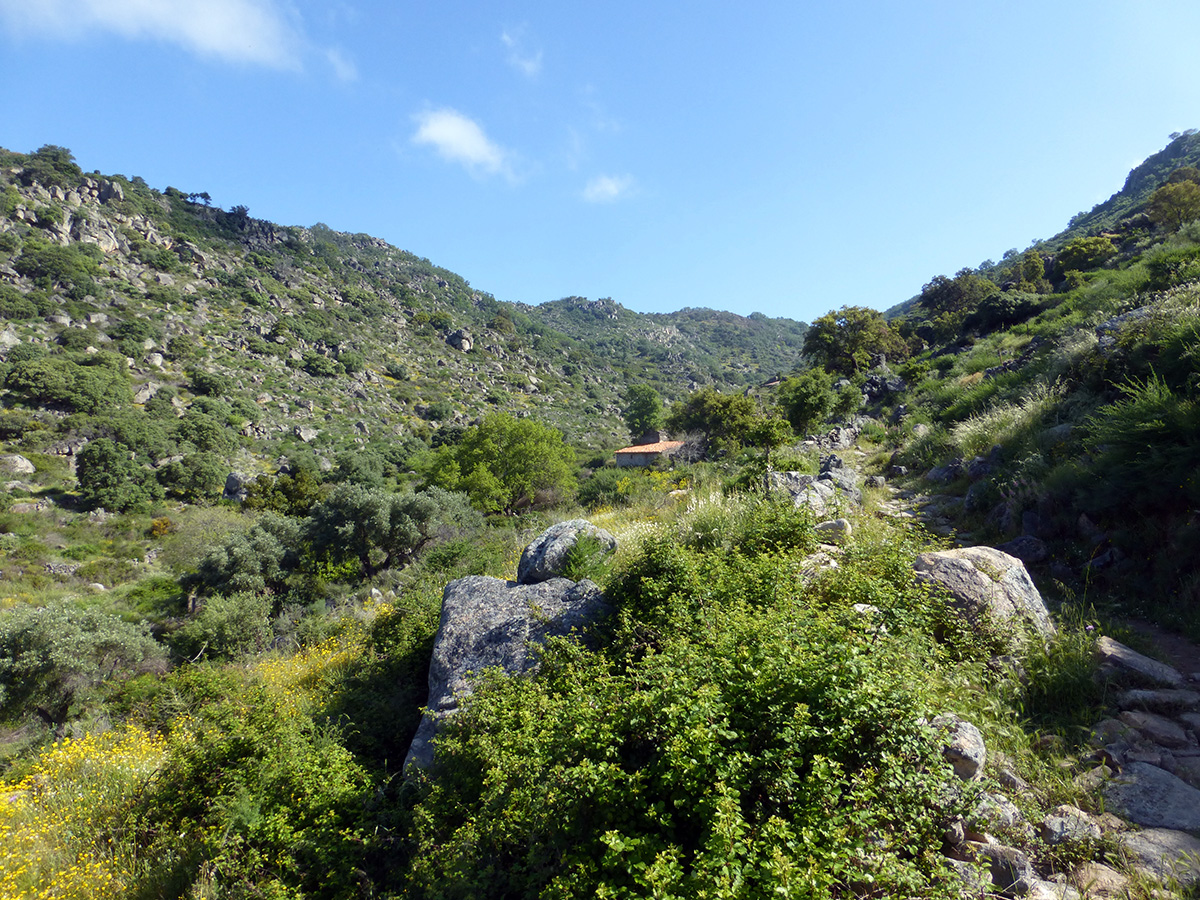 wandelen in extremadura ruta de los molinos