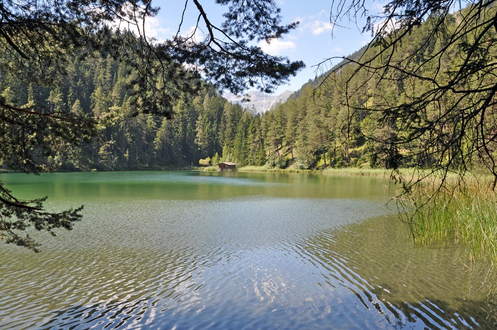 Mittersee - prettiest mountain lakes in Austria