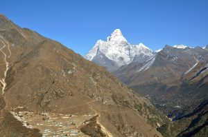 Everest Base Camp Trek day 4: Namche to Mong-La