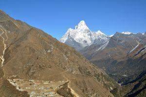Everest Base Camp Trek day 4: Namche to Mong-La