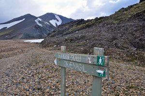 Adventures and solo hiking in Landmannalaugar