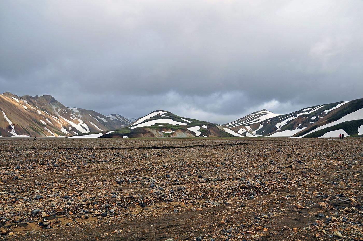 wandelen in ijsland landmannalaugar hiking