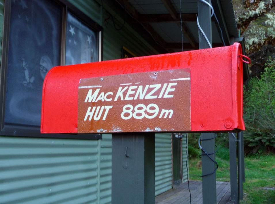 Mackenzie Hut op de Routeburn Track
