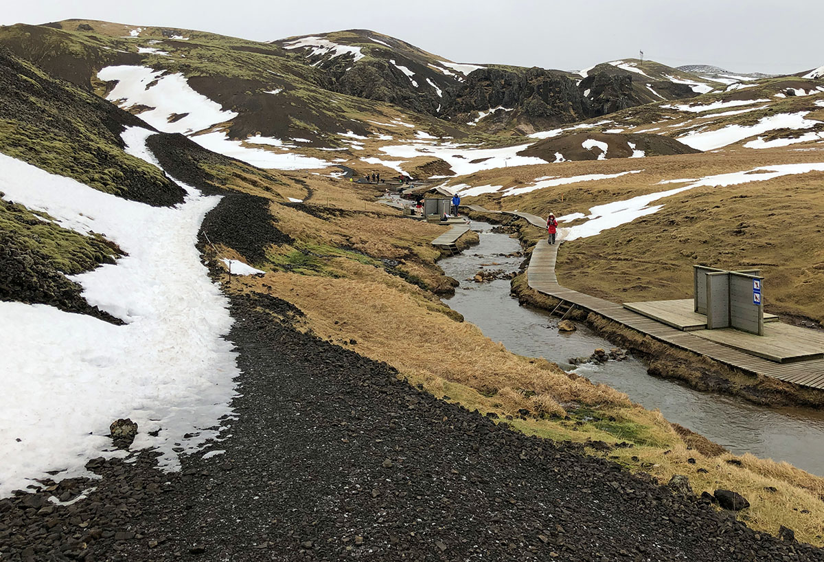 Blue Lagoon alternatief Reykjadalur Hot Springs