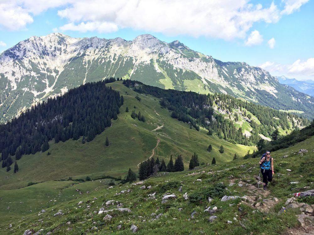 wandelen in kufstein hiking in the wilde kaiser