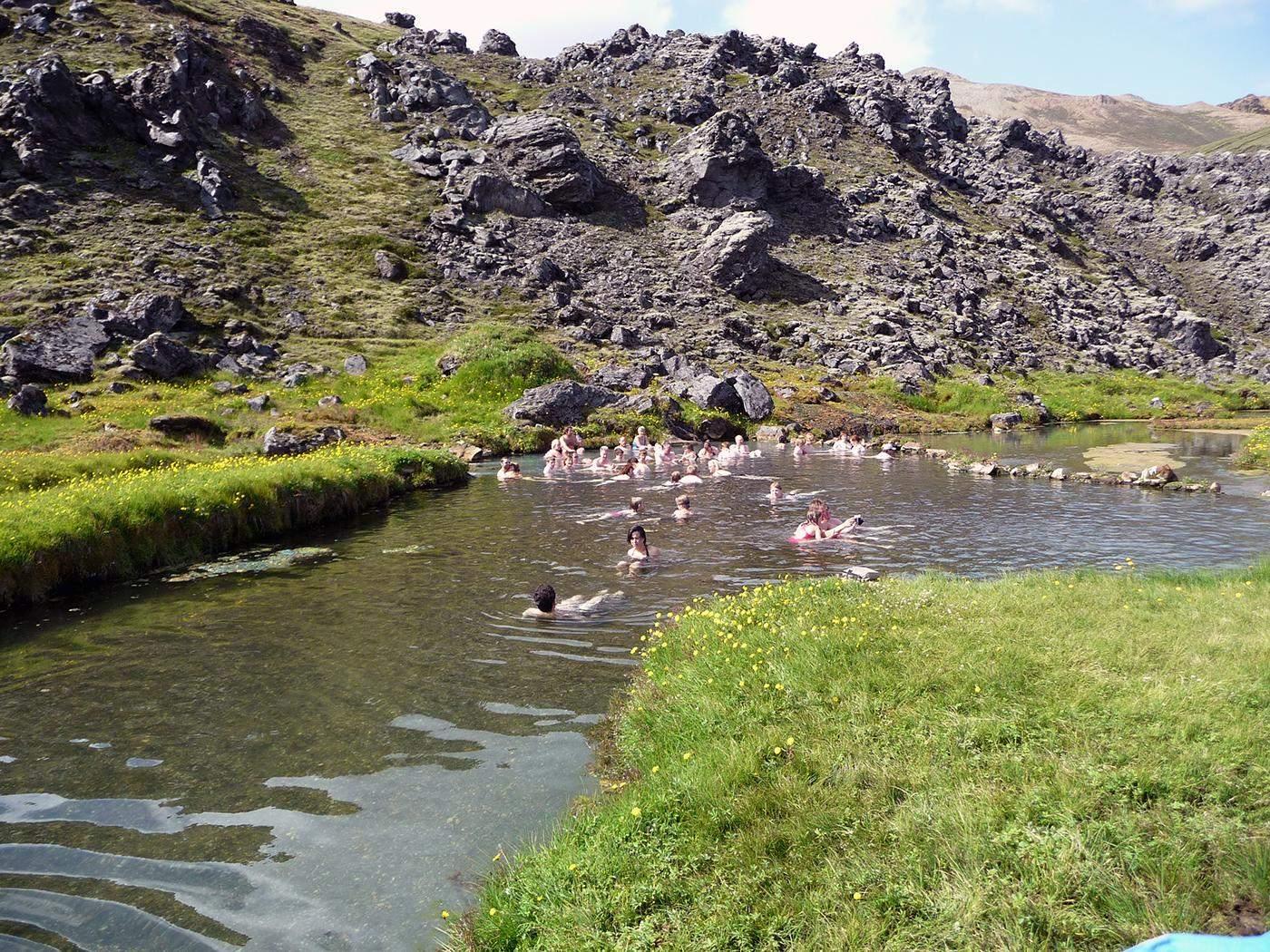 alternatives for the blue lagoon landmannalaugar