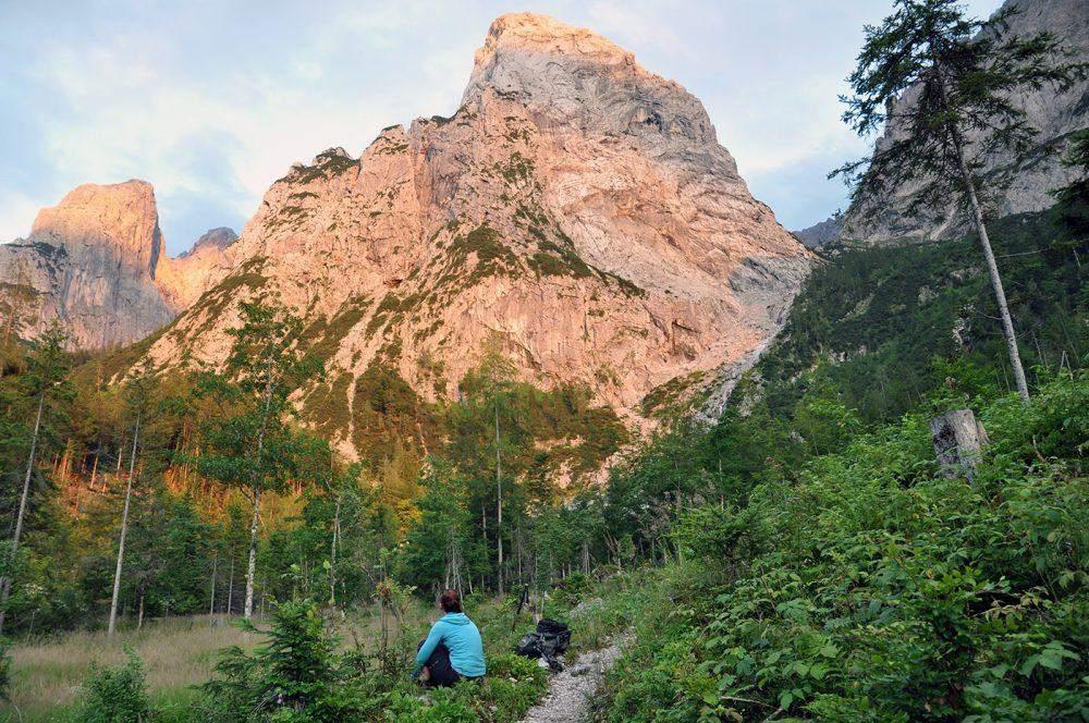 wandelen in kufstein hiking in the kaisertal