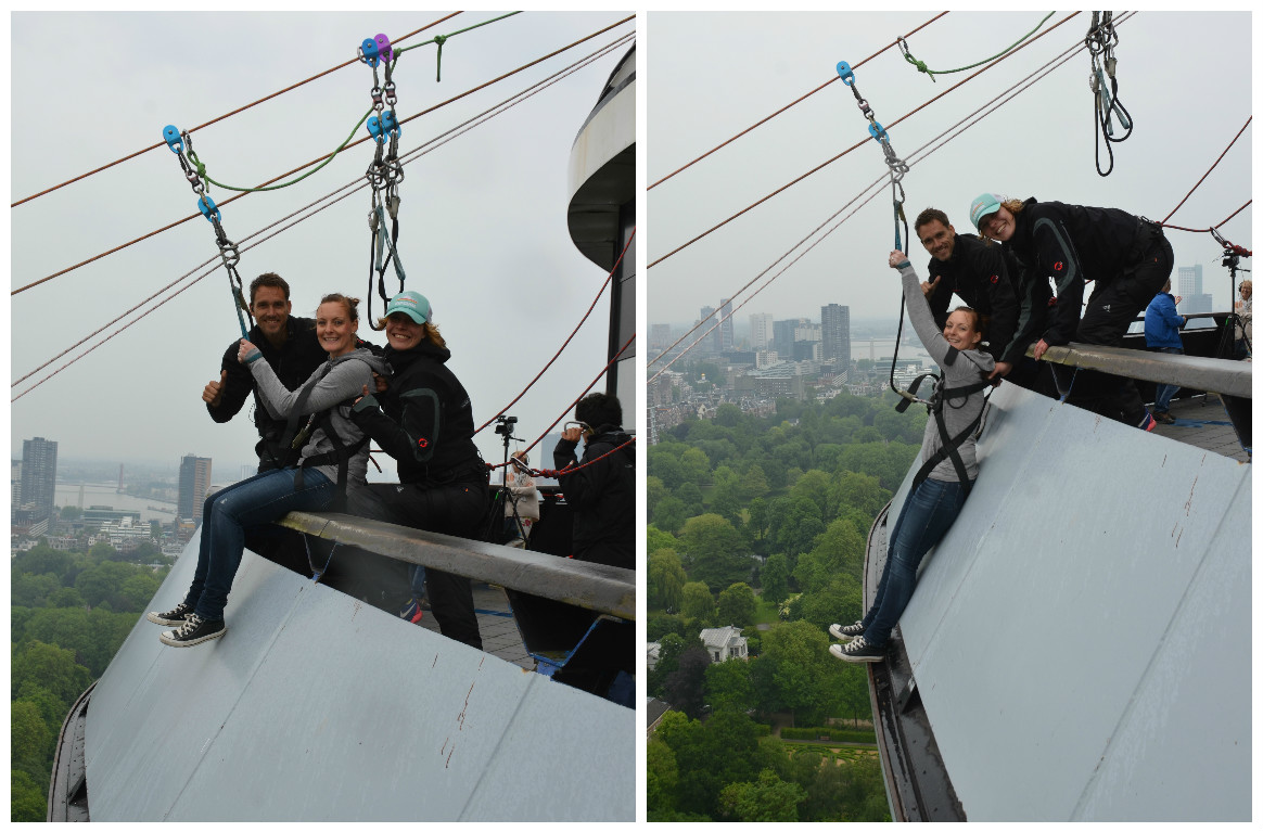 Ziplining From The Euromast In Rotterdam We12travel