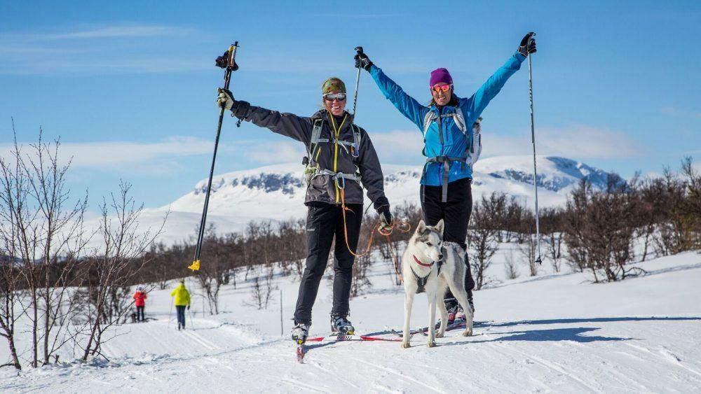 noorwegen in de winter skiën in geilo