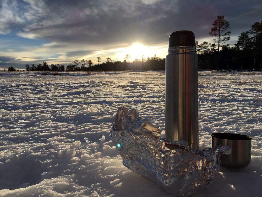 sneeuwschoenwandelen in zweden