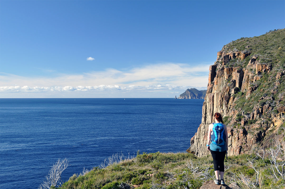 anto on the cape hauy track
