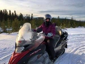 Sneeuwscooteren in Zweden: 100% adrenaline