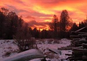 Overnachten in een tipi in de Zweedse wildernis