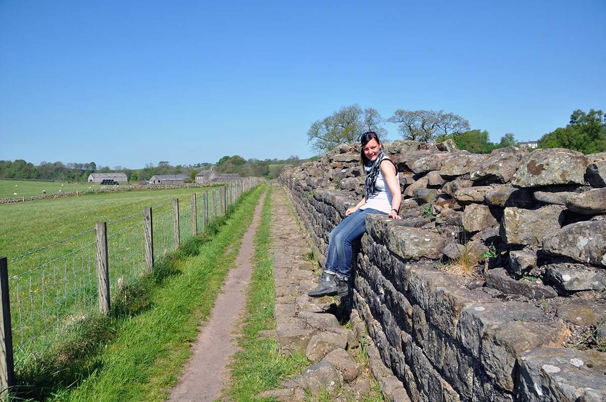 wandelen bij hadrian's wall