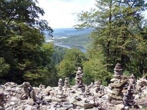 Mountainbiken in de Pfalz naar de Keltische Ringmuur