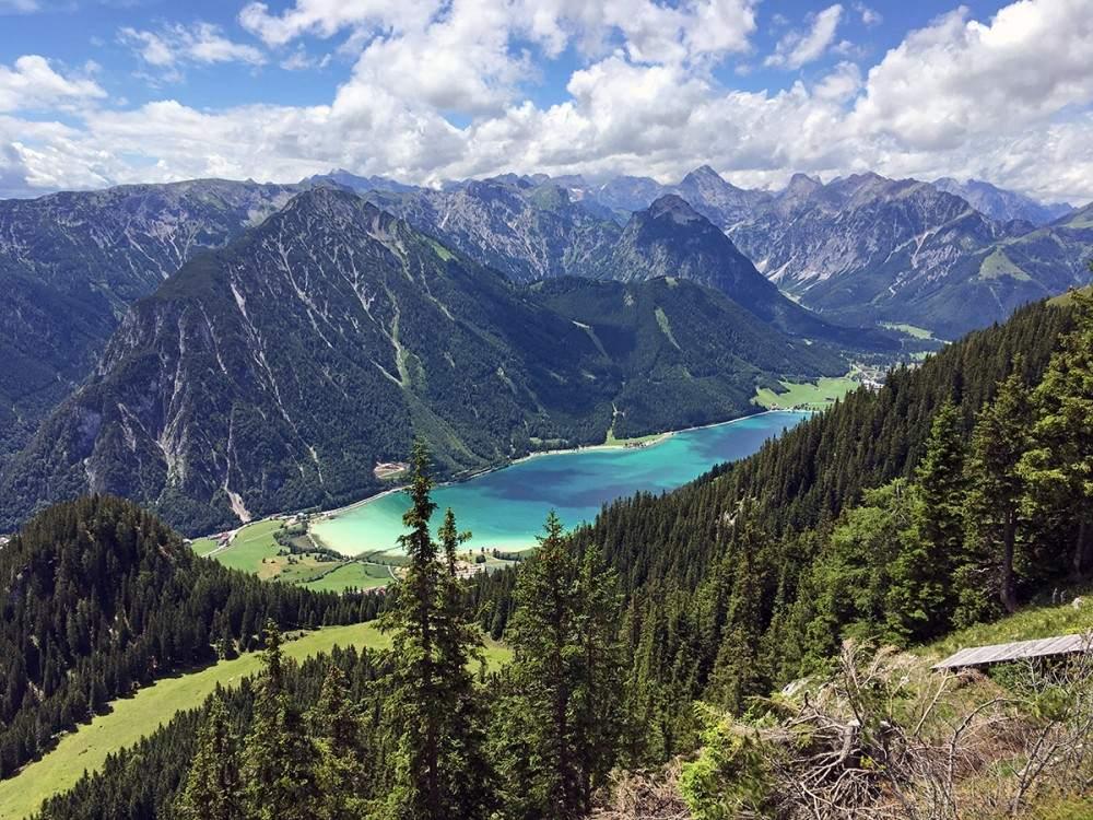 five peaks ferrata klettersteig achensee hiking in austria