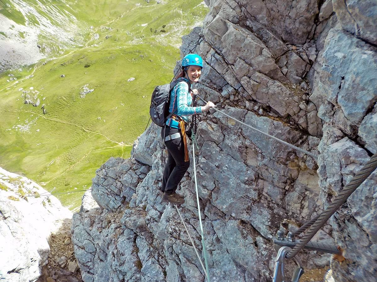 Klettersteig Achensee : Adventure on the via ferrata in achensee we travel