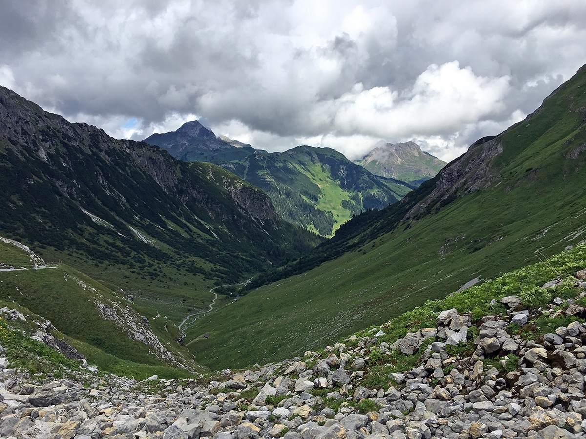wandelen in lech zurs hiking in lech