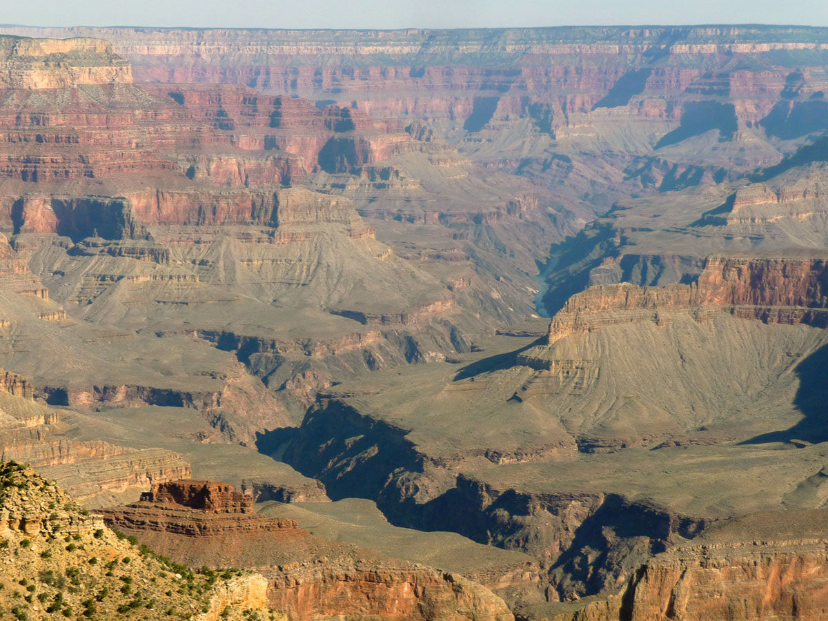 helikoptervlucht over de grand canyon