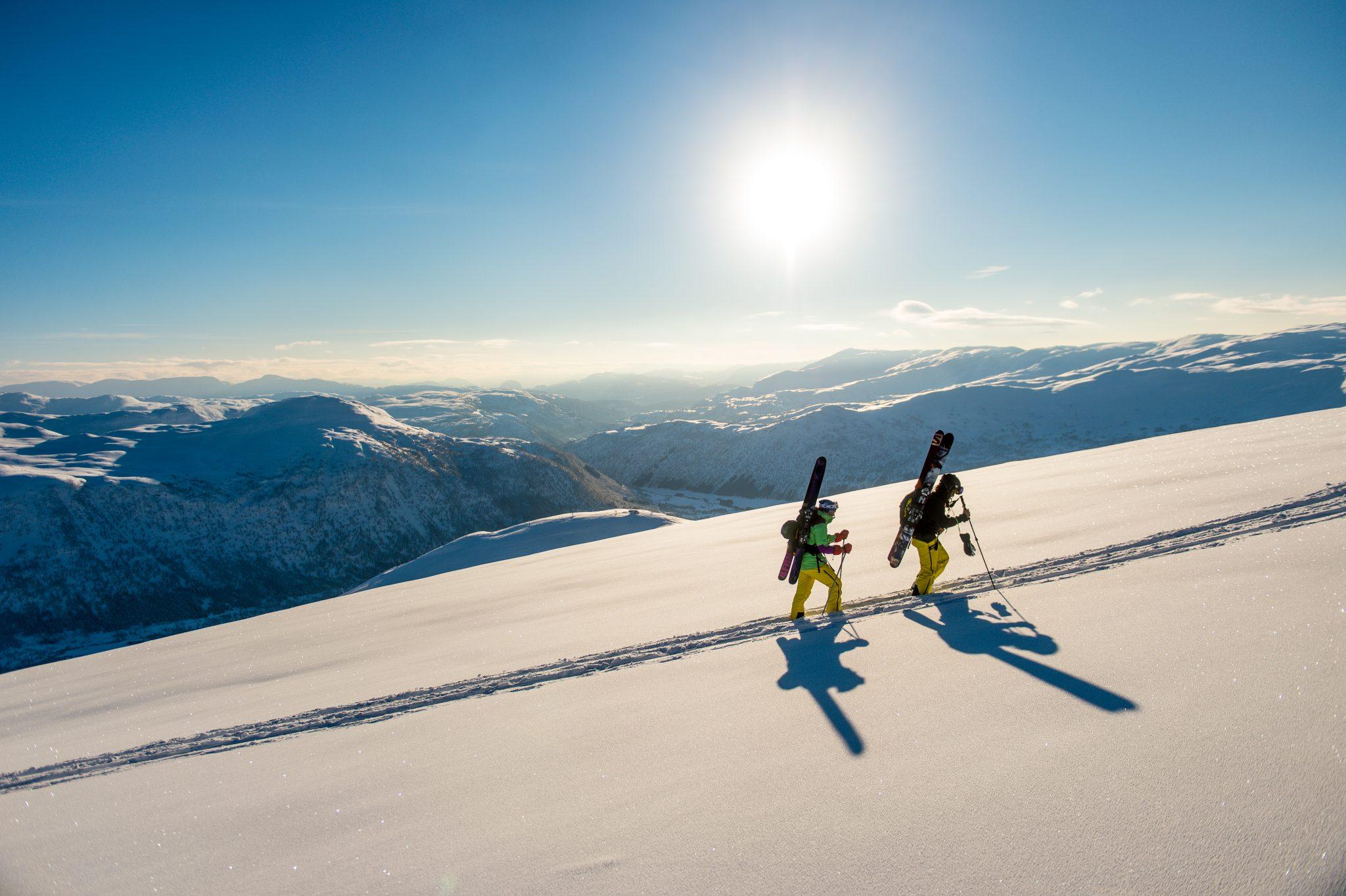 Backcountry skiing in Myrkdalen Credit Sverre F. Hjørnevik (1)