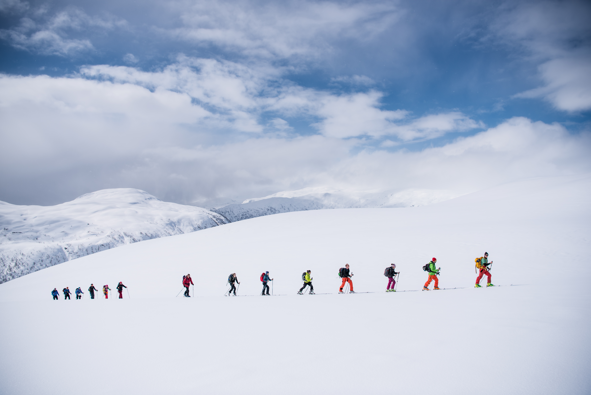 Backcountry skiing in Myrkdalen Credit Sverre F. Hjørnevik (7)