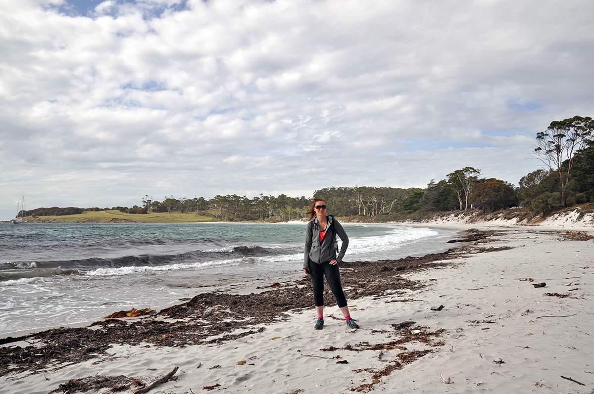 hiking on maria island tasmania