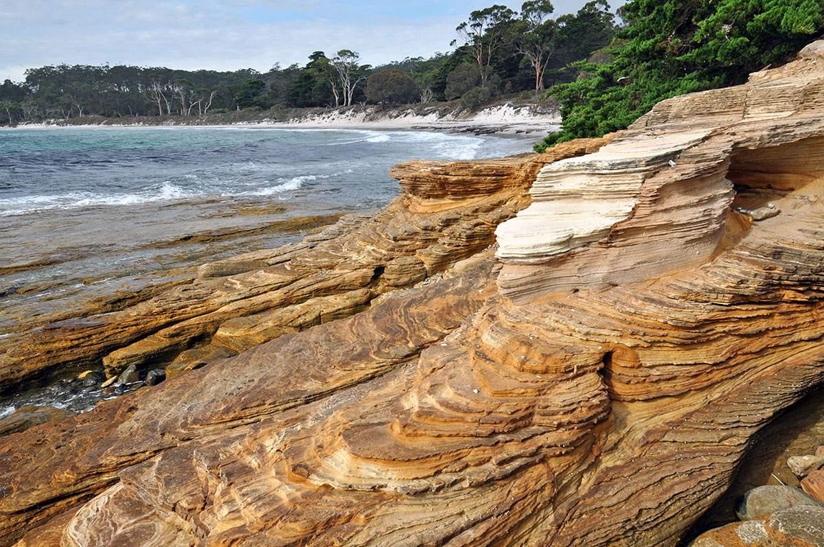 painted cliffs tasmania