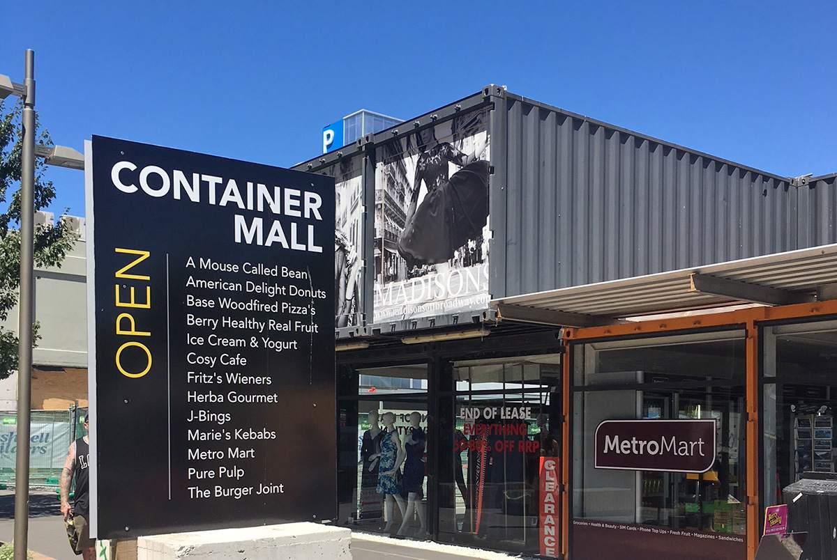 container mall christcu=hurch