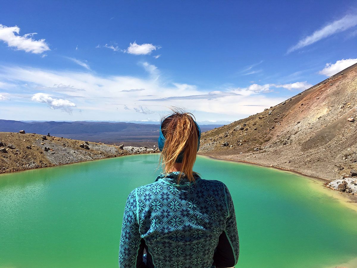 emerald lakes tongariro crossing