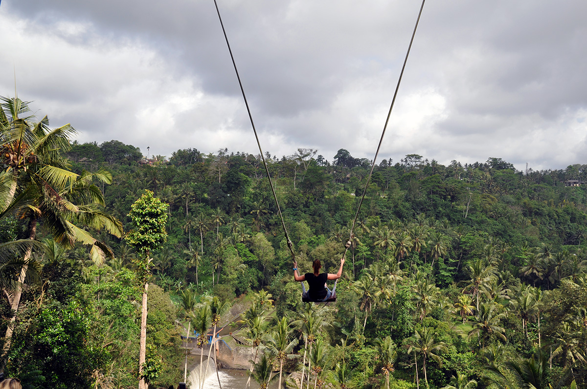 The Bali Swing A Playground For Adults In Bali