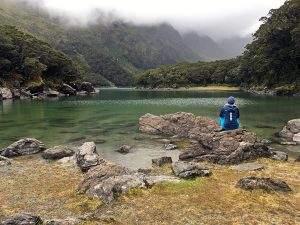Nieuw-Zeeland week 10: regen op de Routeburn Track