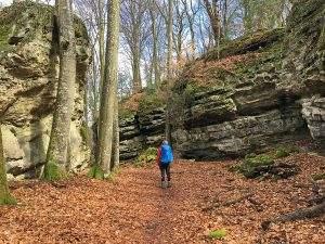Wandelen op de Müllerthal Trail in Luxemburg