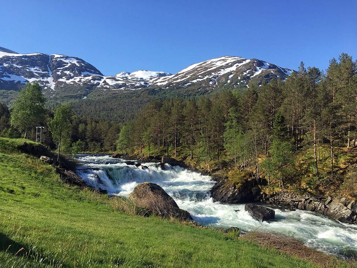 fietsen in fjord-noorwegen