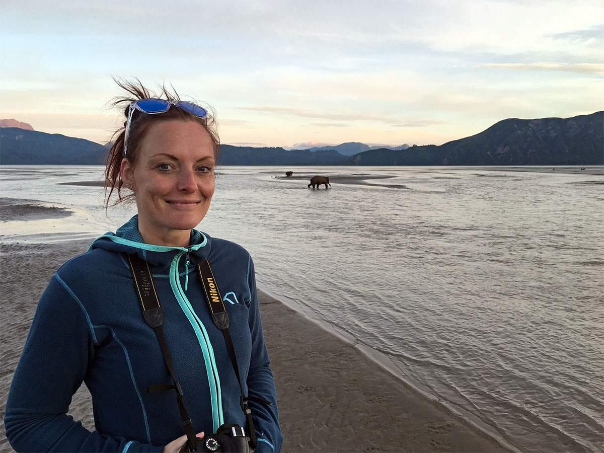 alleen op reis als vrouw in alaska