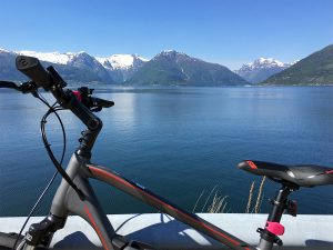 Biking in Fjord-Norway in pictures