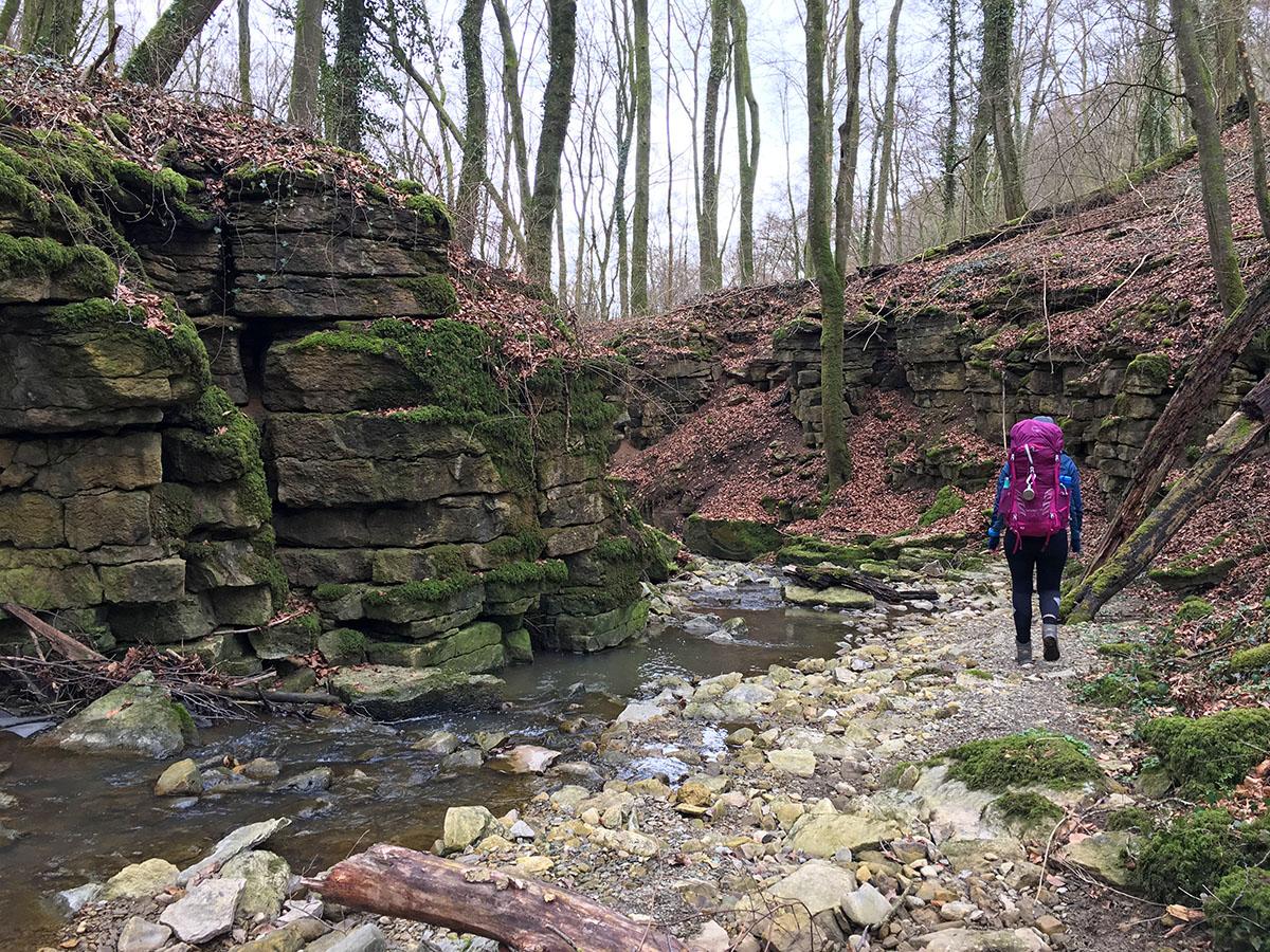 wandelen op de müllerthal trail