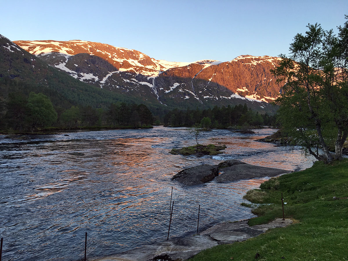 biking in fjord norway