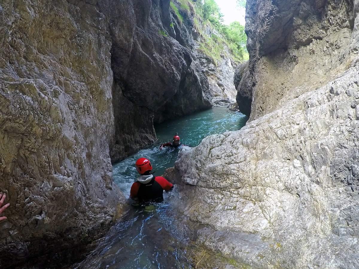 canyoneering wilder kaiser